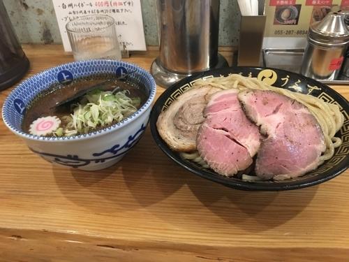 「つけ麺(並)ローストチャーシュー」@中華蕎麦うゑずの写真