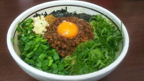 「元祖台湾まぜそば」@濃厚担々麺はなび 小牧店の写真