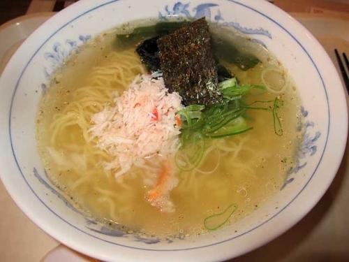 「かにラーメン 1,080円」@SUSHI CAFE RETARの写真