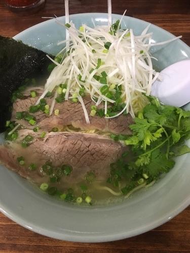 「ネギ塩ラーメン」@麺工房 武の写真