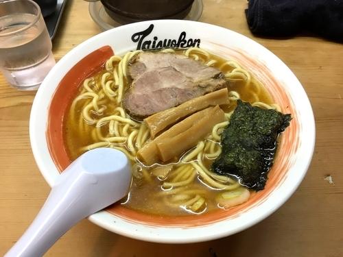 「ラーメン 太麺 カタメ」@中野大勝軒の写真
