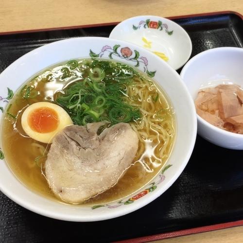 「日本ラーメン」@餃子の王将 西大路五条店の写真