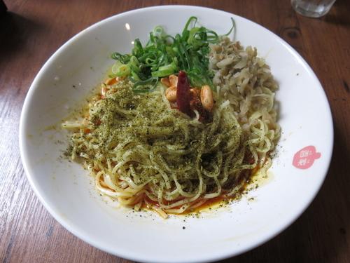 「麻辣汁なし担々麺+麺大盛り:920円+100円」@香家 三田店の写真