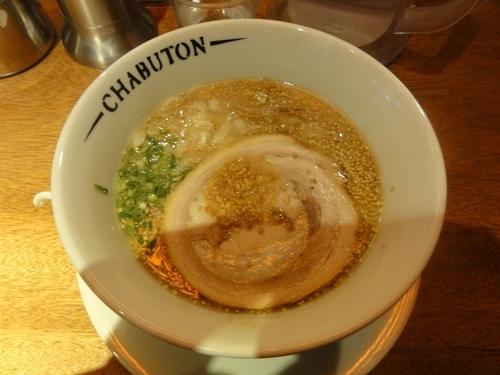 「ちゃぶとんらぁ麺」@ちゃぶ屋とんこつらぁ麺CHABUTON 京都ヨドバシ店の写真
