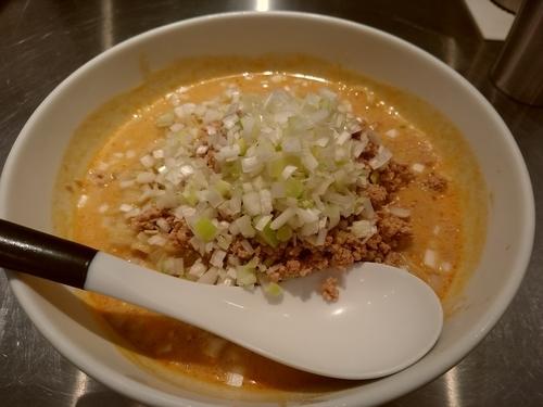 「冷し担担麺(並盛・180g)900円」@高崎はた山の写真