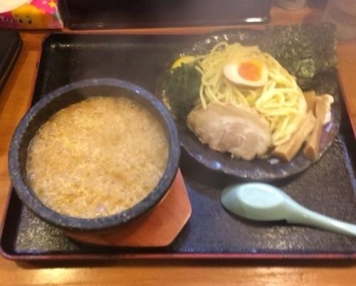 「濃厚とんこつ伊勢海老つけ麺」@竹本商店★つけ麺開拓舎の写真