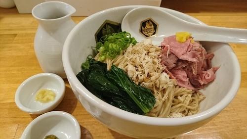 「鯛油そば(大盛) ¥ 800」@真鯛らーめん 麺魚の写真