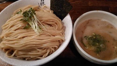 「濃厚鶏白湯 つけ麺(特盛)」@麺屋 藤しろ 目黒店の写真