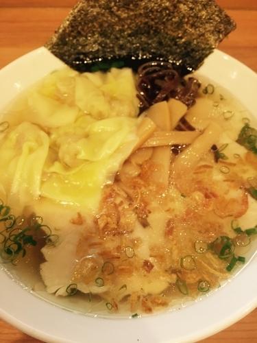 「海老わんたん麺+しっとり香味鶏」@MEN-YA DAISUKEの写真