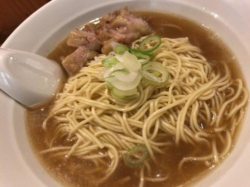 「肉そば 中」@自家製麺 伊藤の写真