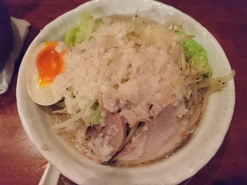 「スタミナらぁめん(野菜多め、アブラ多め、ニンニク少なめ)」@食彩麺酒房 響の写真