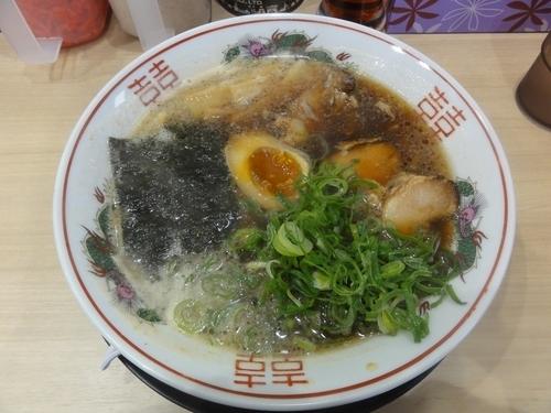 「あっさり鶏がら中華そば」@中華そば 花京 大正店の写真