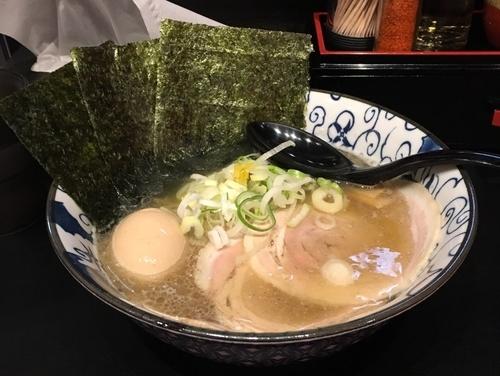 「特製にぼしそば」@らーめん福たけ 富士見店の写真