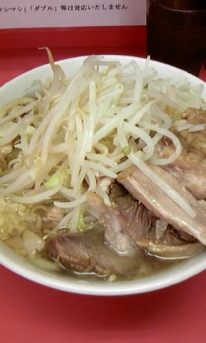 「小ラーメン+豚増し」@ラーメン二郎 小岩店の写真