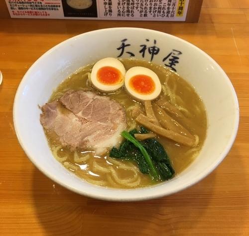 「味玉ラーメン(並¥750)」@天神屋 秋葉原本店の写真