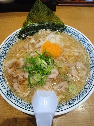 「肉そば(チャーハン・からあげセット) 1058円」@丸源ラーメン 足利店の写真