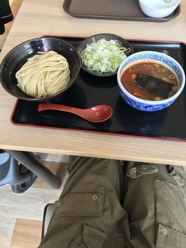「からつけ麺(並)➕ ネギ増し」@つけ麺専門店 三田製麺所 セブンパークアリオ柏店の写真