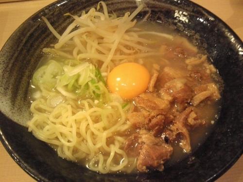 「旨トロ肉玉そば¥750」@麺や きたじまの写真
