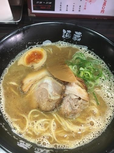 「魚介合わせ醤油ラーメン¥700」@麺蔵 ひの屋の写真