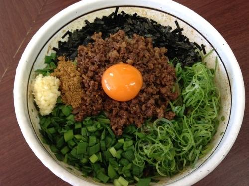 「元祖台湾まぜそば(大盛り)」@濃厚担々麺はなび 小牧店の写真