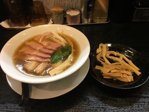 「ちゃーしゅー醤油そば メンマ」@麺屋 中川會 住吉店の写真