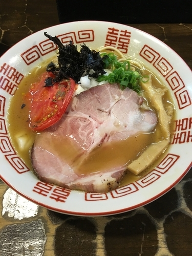 「【限定】濃厚渡り蟹そば」@特級鶏蕎麦 龍介の写真