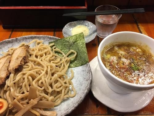 「匠の伽哩つけ麺・中(880円)」@つけ麺 紫匠乃 門前仲町店の写真