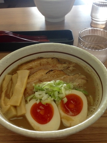 「辛特製らーめん」@麺屋かとうの写真