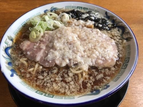 「ルーキー煮干 750円」@麺屋 春馬の写真
