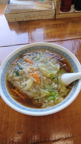 「サンマー麺650円」@永福拉麺の写真