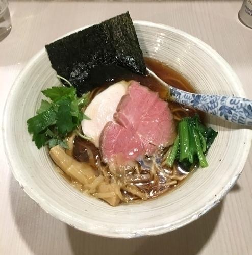 「濃口醤油そば ¥780」@麺処 きなりの写真