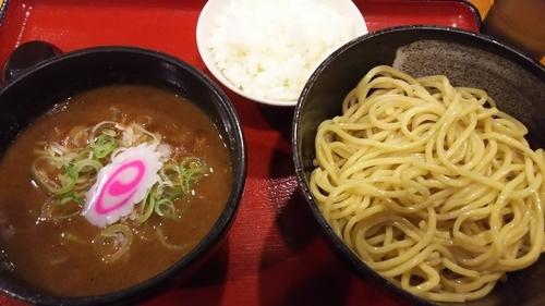 「濃厚つけ麺+ライス」@中華そばつけ麺 魚介の達人 久兵衛 取手店の写真