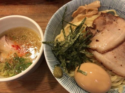 「特製淡麗塩つけ麺(中盛り)」@塩つけ麺 灯花の写真