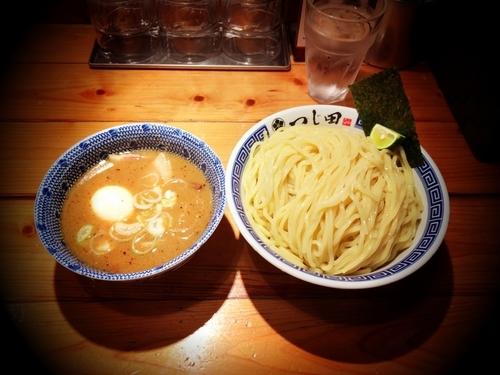 「濃厚味玉つけ麺特盛」@つじ田 神田御茶ノ水店の写真