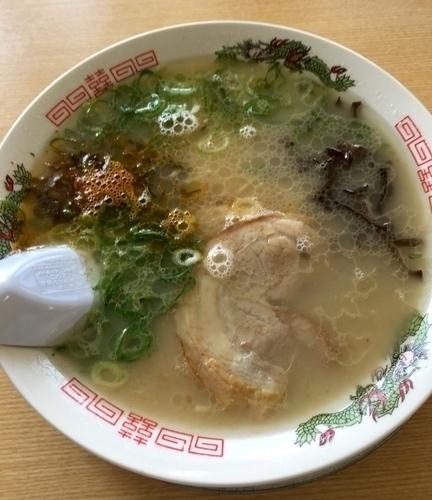 「高菜ラーメン ¥864」@春吉ラーメン 大福岡展店の写真