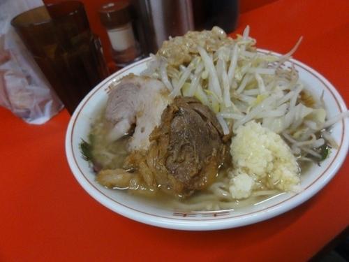 「控え目 680円 ニンニク 脂」@ラーメン二郎 京都店の写真