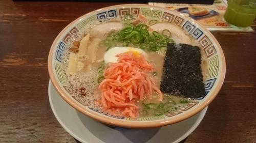 「昔ラーメン(麺硬め)」@大砲ラーメン 本店の写真