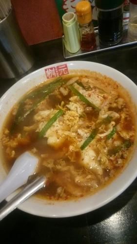 「中辛  (中華麺)  800円」@辛麺屋桝元 前橋県庁南店の写真