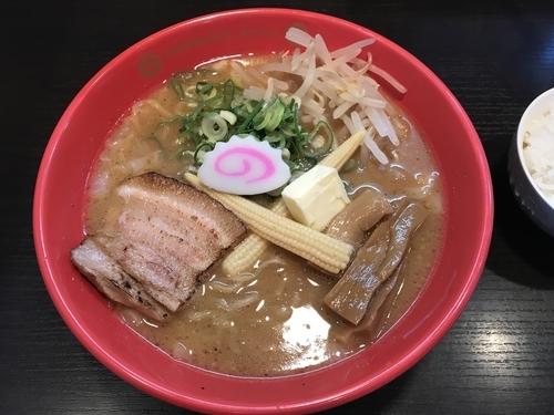 「みそラーメン」@麺の坊 晴ればれの写真