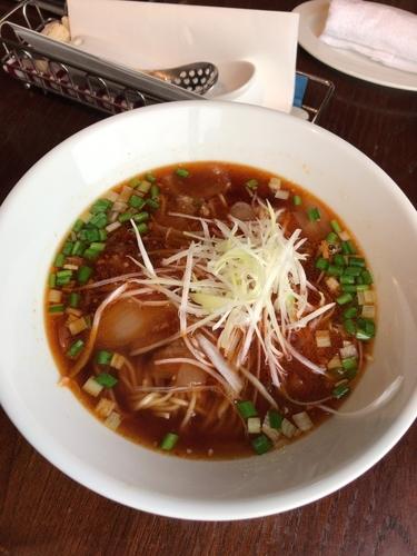 「勝浦タンタンメン 840円」@Dining BAR RAGTIMEの写真