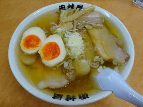 「チャーシューメン(880円)+煮玉子(100円)」@田村屋の写真