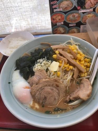 「67デラックスラーメン1150円」@くるまやラーメン 大原店の写真