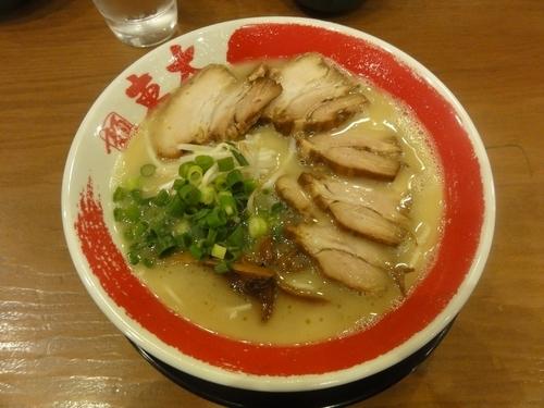 「白ラーメン」@ラーメン東大 京都店の写真