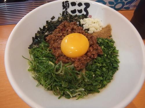 「台湾まぜそば780円(オープン500円、並、追い飯無料)」@麺屋こころ 柏店の写真