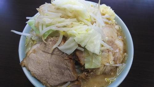 「小ラーメン 豚入り」@ラーメン二郎 新潟店の写真