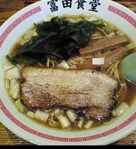 「ラーメン」@松戸中華そば 富田食堂の写真