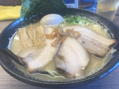 「鯛白湯ラーメン スペシャル」@東大和ラーメン 大冬樹の写真