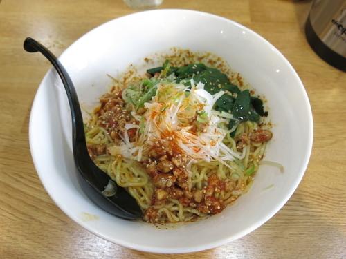 「汁なし担々麺(並盛):860円」@味道屋の写真