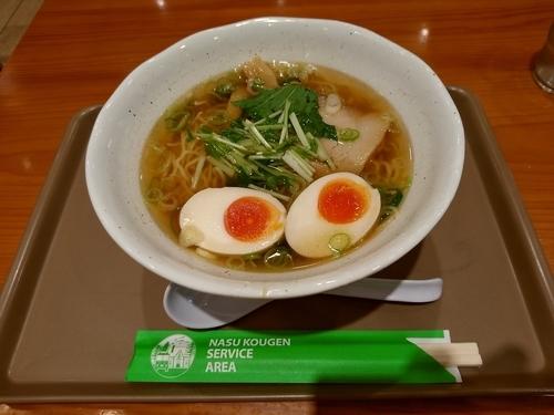 「りんどうラーメン(並盛)780円」@麺屋りんどうの写真