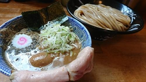 「半熟味玉つけ蕎麦(並) ¥ 950」@中華蕎麦 とみ田の写真